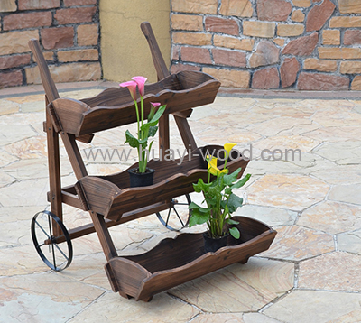 raised garden wheelbarrow planter