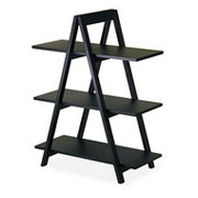 wooden display racks